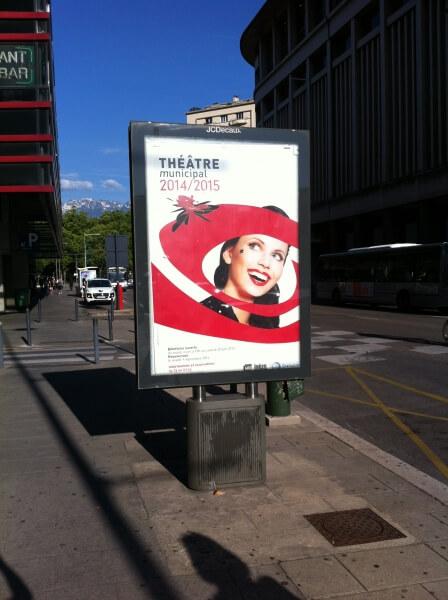 Campagne d'affichage