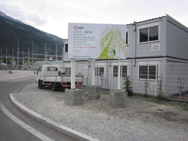 Panneau informatif routier