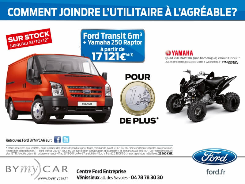 Annonce presse Ford BYmy)CAR