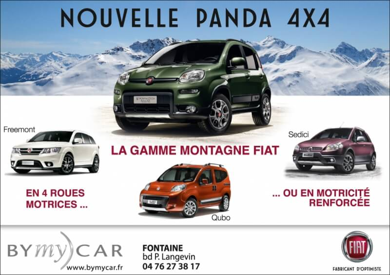 Annonce presse Fiat BYmy)CAR