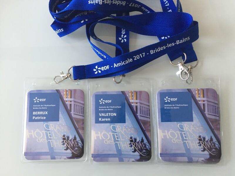 Badges et programme