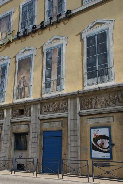 Façade du Théâtre de Grenoble
