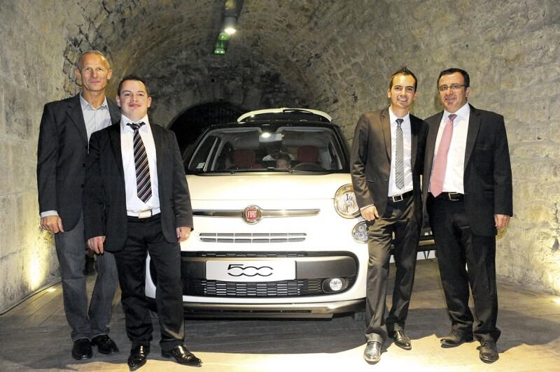 Equipe Fiat BYmy)CAR