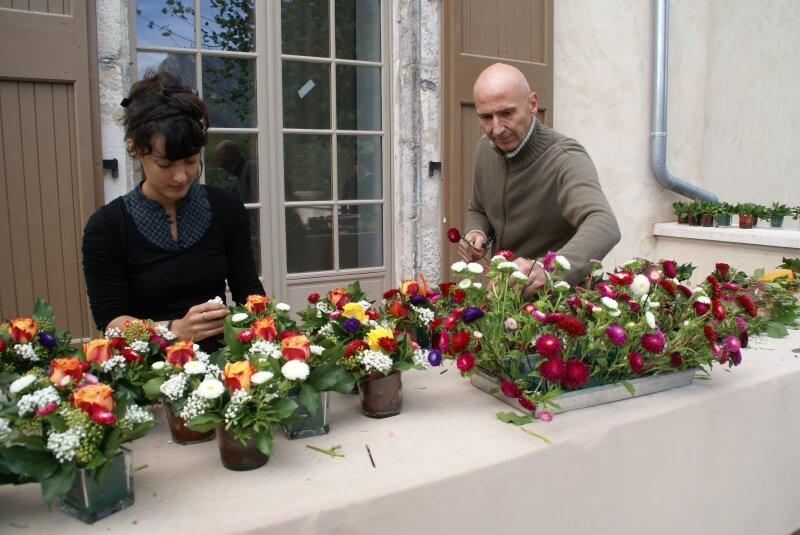 Atelier de compositions florales