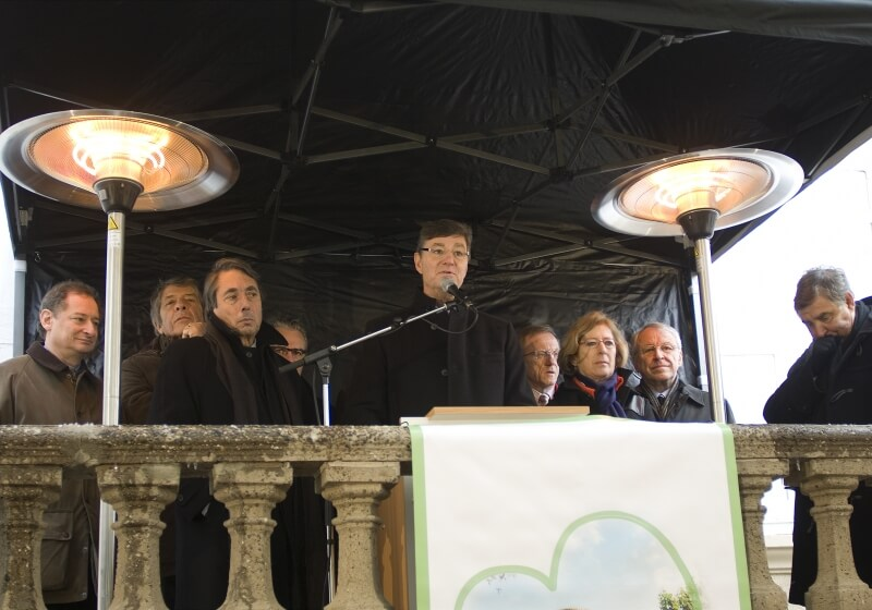 """Discours du Président de l\'Association \""""Des Vallées et Des Coeurs\"""""""